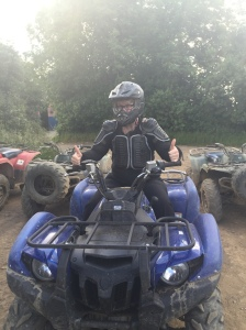 My first - but not the last time Quadding
